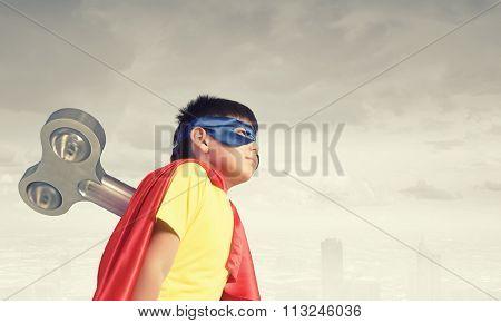Hyperactive super child