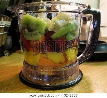 Fruit In Blender