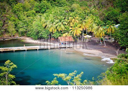 Anse Noire, Martinique, Caribbean