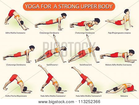 Yoga For Strong Upper Body