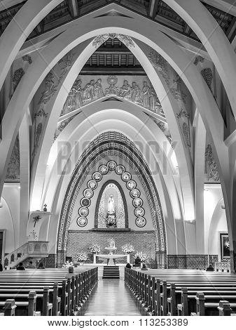 The Fatima Virgin Church, Lima