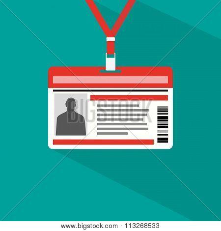 Name tag badge template