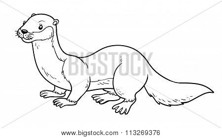 Coloring Book (otter)