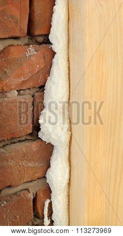 Polyurethane For Door Or Window Install