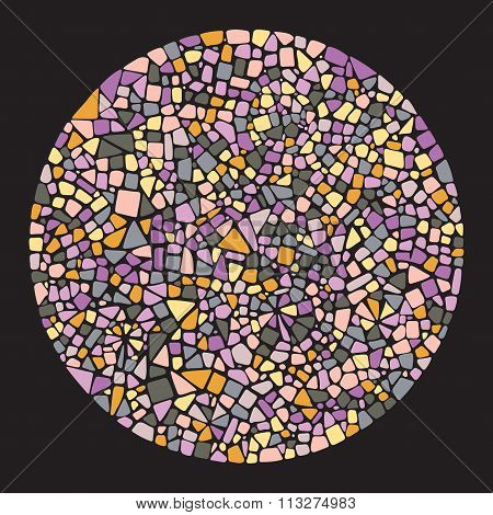 Mosaic design element