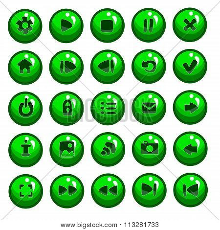 Big Set Of Vector Button For Game Design-3