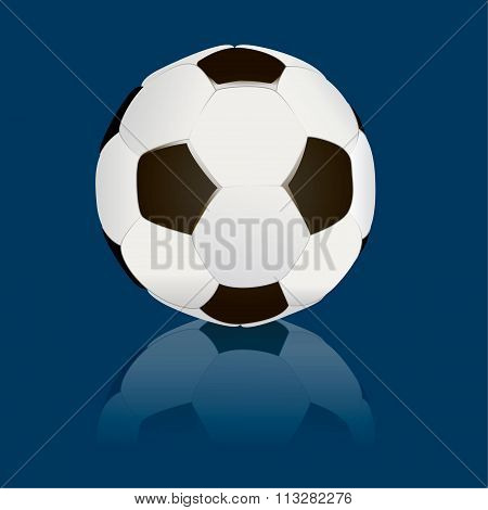 soccerball isolated