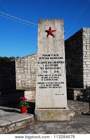 War Memorial In San Michele Del Carso