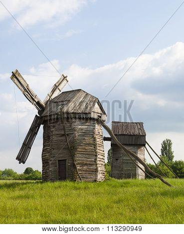 Traditional Ukrainian Windmills