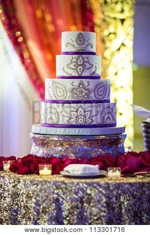 Beautiful Indian Wedding Cake