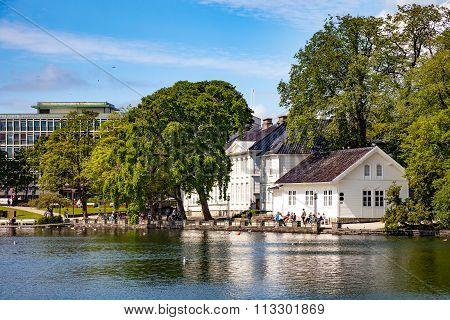 City Park In Stavanger