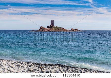 Île D'or (golden) Island-saint Raphael,france