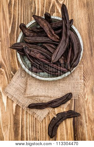 Dried Carob Pods, Ceratonia Siliqua