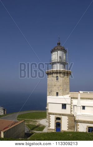 Lighthouse At Matxitxako Cape, Bermeo, Vizcaya,basque Country,spain