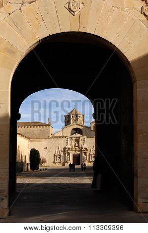 Monastery Of Poblet, Tarragona ,spain