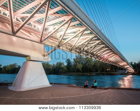 Sundial Bridge, Northern California