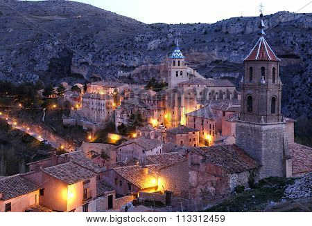 Cityscape of Albarracin