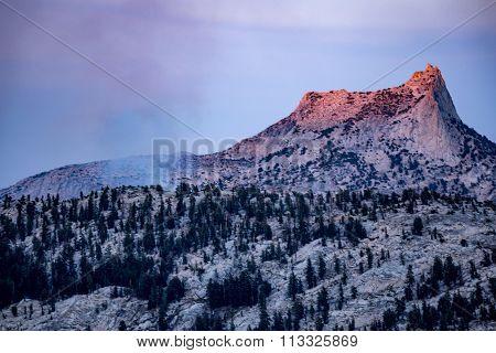 View along john muir trail Yosemite National Park.