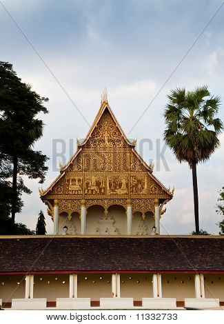Golden Triangle Of Buddhist Temple
