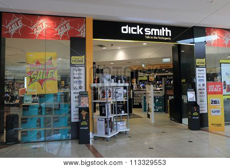 Dick Smith electronics store Australia
