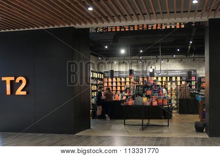 T2 tea shop retail Australia