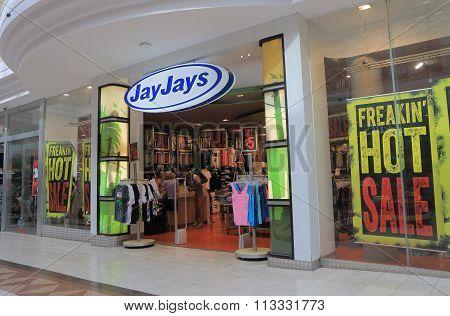 Jay Jays apparel store Australia