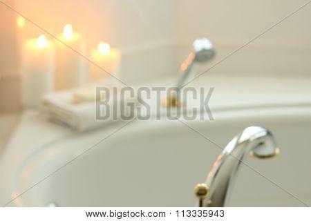 Spa bath.