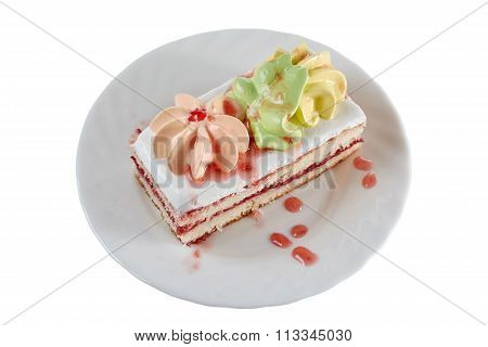 Cake With Jam Drops
