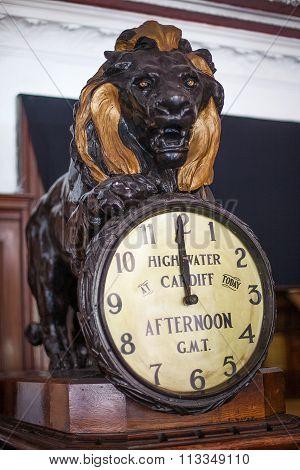 Historic High Water Clock