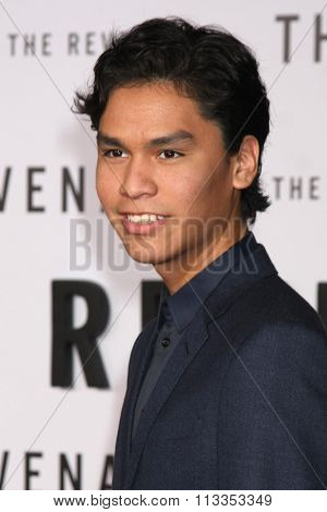 LOS ANGELES - DEC 16:  Forrest Goodluck at the