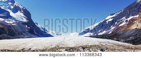 Athabasca Glacier in Jasper National Park, Canada