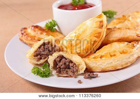 fried meat pies, empanadas