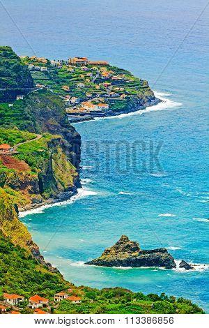 Coastline Near Sao Jorge / Boaventura, Madeira