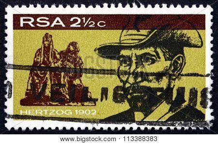Postage Stamp South Africa 1968 James Barry Munnik Hertzog