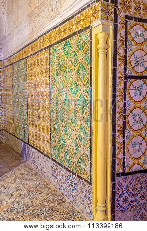 The Colorful Glazed Tiles