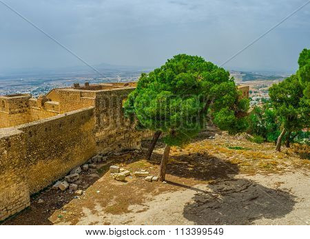 The Ramparts Of The Small Fort