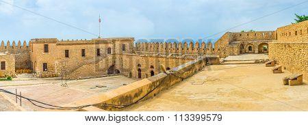 Panorama Of The Citadel In El Kef