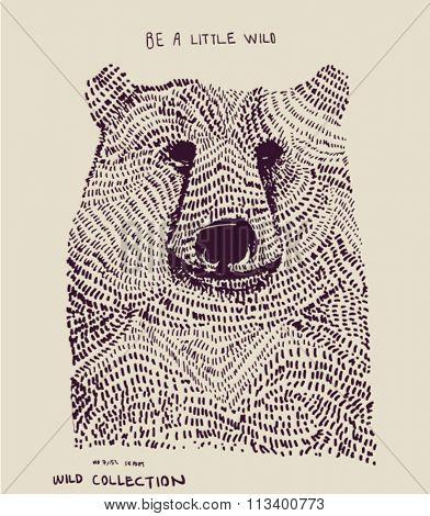 illustration bear
