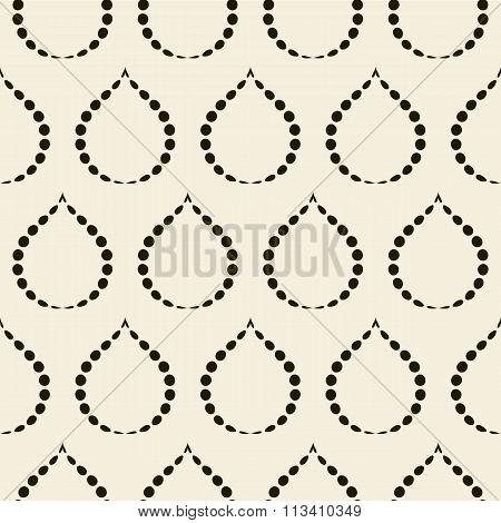 Vector illustration seamless pattern drop