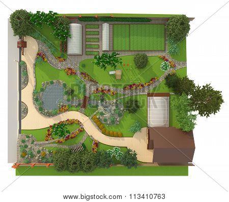 Design A Garden Plot
