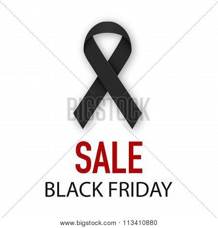 Vector illustration Black Friday discounts