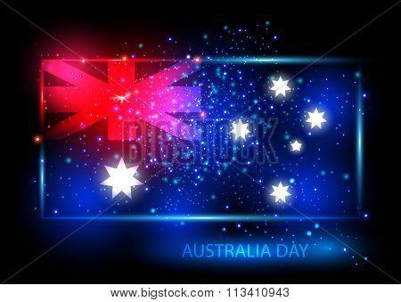 Australia Day Card Design