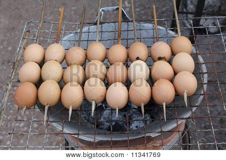 Bbq Eggs