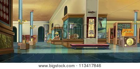 Museum interior. Image 01