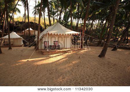 Luxury Tent On The Beach India