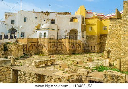 The Roman Cisterns Of El Kef