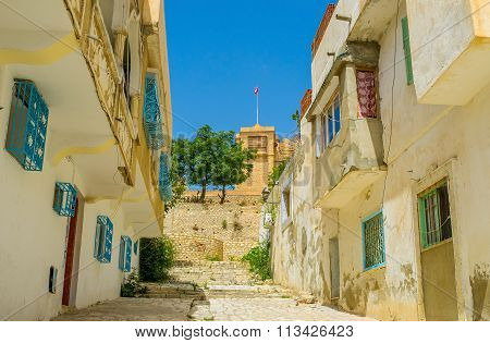 The Empty Street Of El Kef