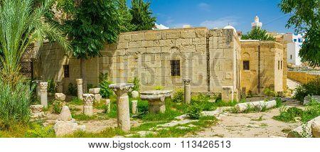The Ruins Of Basilica In El Kef