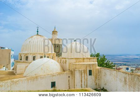 The White Ribbed Domes