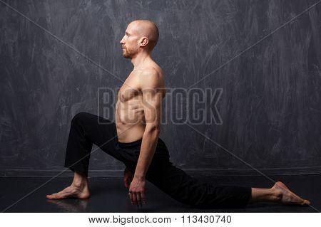Man Doing Exercise